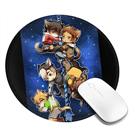 Chibi Voltron Onesie Fashion Round Office Mouse Pad Gaming Mouse Pad 20cm