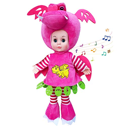 Baby Dolls for Girls, Soft Body Angel Plush Dolls with Open/Close Eyes, Cute Lifelike Handmade Plush Reborn Baby Dolls,Built-in Classic Music for Babies,16inch -  HONGYU CRAFT& TOYS FACTORY, CY2004S