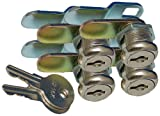Prime Products 18-3315 Cam Locks - 7/8' Keyed, Pack of 4