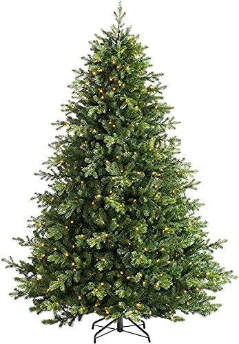 PJDOOJAE WeRChristmas WeRChristmas El árbol de Navidad de Abeto Incluye piñas Árbol...
