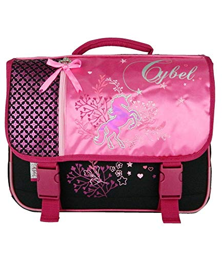 Cartable 38 Cm Cybel Cheval Rose Bagtrotter