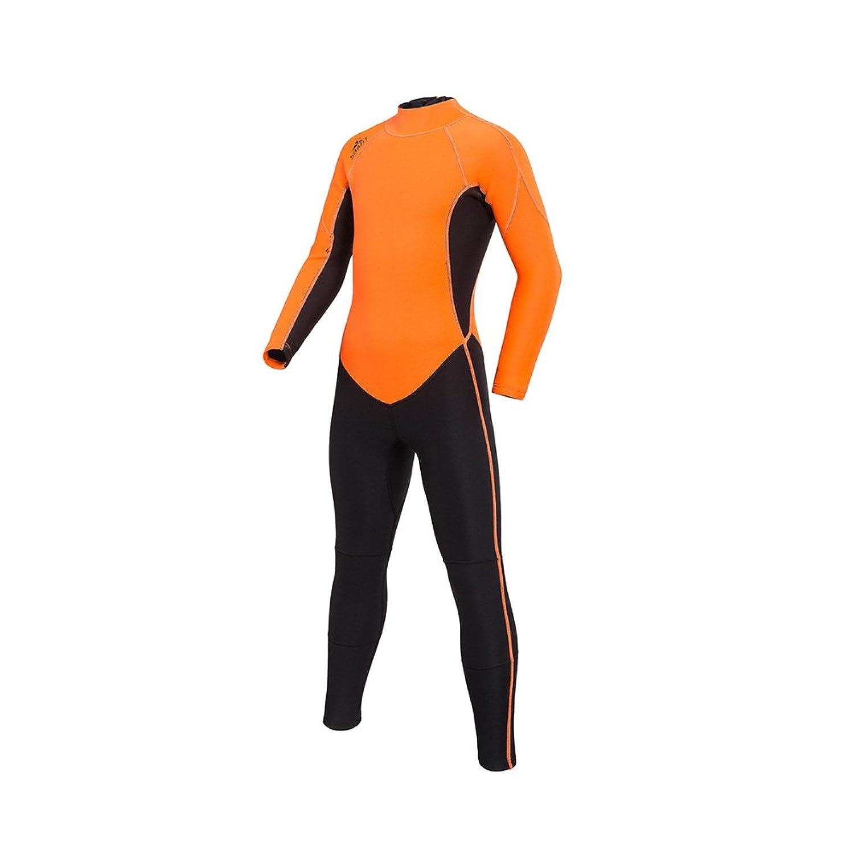 男の子の水着 ボーイダイビングスーツ 全身 シャム 子供たち 学生 シュノーケリング 冬の水泳 ダイビングスーツ 水着水着 (サイズ : XL)