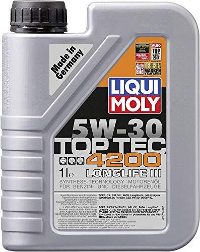 LIQUI MOLY 3706 Top Tec 4200 Motoröl 5 W-30 1 L