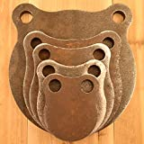 1/2' Thick AR500 Steel Shooting Targets 3' 4' 5' 6' 8' Gong Set