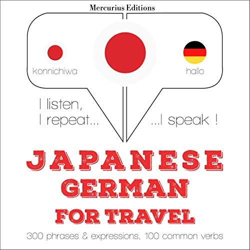 Japanese - German. For travel cover art