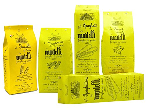 Maccheroni 1 kg - Pasta Martelli - Pastificio Tradizionale Famiglia Martelli
