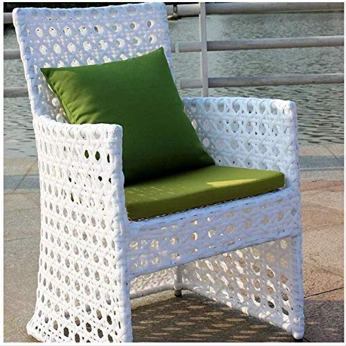 Cuscini di seduta per interni e esterni impermeabili di ricambio Cuscino di seduta profondo Cuscino schienale per mobili da giardino