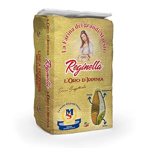 Farina ideale per Pizza, Tipo 1 - REGINELLA ORO D'IRPINIA - Molino Scoppettuolo - 5 Kg