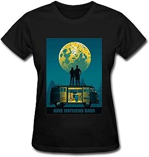 Duanfu Dave Matthews Band Women's Cotton Short Sleeve T-Shirt