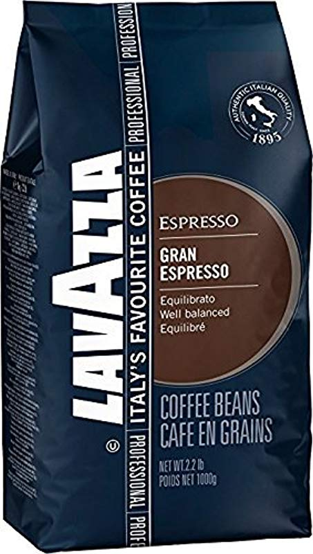 Lavazza Grand Espresso Whole Bean Coffee 2 2 Lbs Pack Of 2