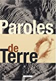Paroles de Terre