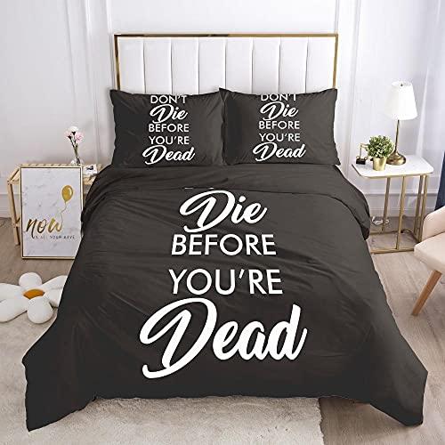 Ksjrddiog 3-teiliger Bettbezug Plisa...