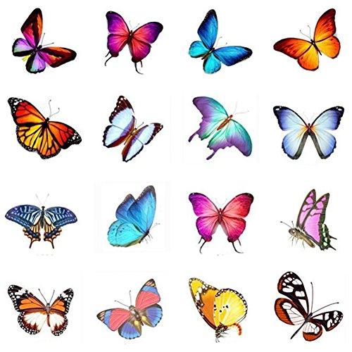 Stickers hommes et des tatouages temporaires Femmes Waterproof Papillon-A390