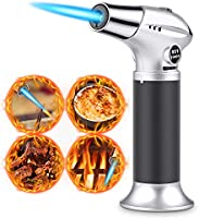 RenFox Culinary Torch, Butane Refillable Cooking Blow Torch for BBQ,Baking,Desserts
