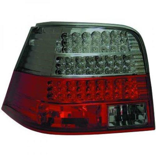 in. pro. 2213997 haute définition LED Feux arrière, Rouge/Noir