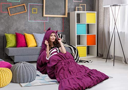 Chic Home - Schlafsäcke in violett, Größe 32 x 75