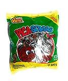 Dulces Vero Vero Pica Sandia Chili Watermelon Flavor Gummy Mexican Candy,100 Pieces,1 LB,5.15 OZ
