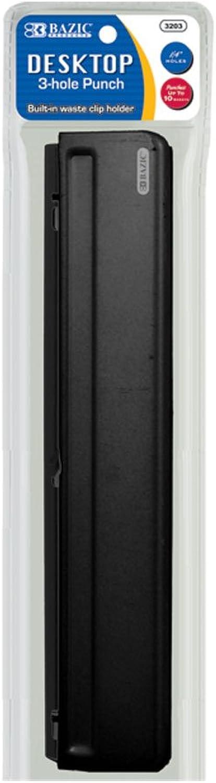 Bazic Desktop 3-Loch Papier Punch B00752TLNS       | Ausgezeichnet  5d3c07