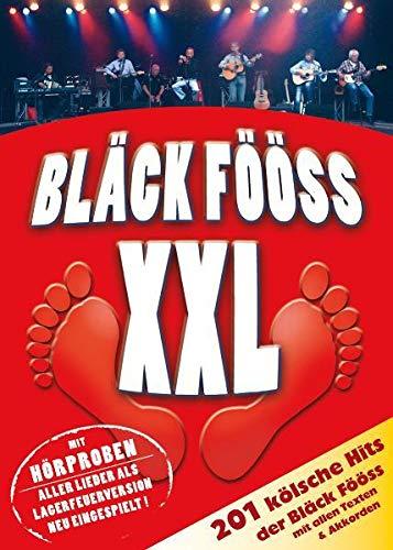 Bläck Fööss XXL mit PC-DVD: 201 Bläck-Fööss-Hits mit allen Texten & Akkorden (beiliegende Akkordtabelle) incl. Hörproben: 201 Bläck-Fööss-Hits mit allen Texten & Akkorden incl. Hörproben