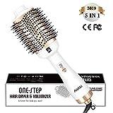 Aiskki One Step Sèche-cheveux,5 en 1 Brosse Soufflante,Multifonctionnelle à Air...
