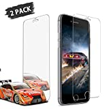 Pasnity Screen Protector for iPhone 8, Screen Protector for iPhone 7, 2Pack Tempered Glass [Case Friendly] Ultra Clear 9H Hardness, [No Bubbles] [Scratch] [Anti-Glare] [Anti Fingerprint]