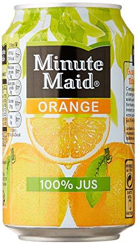 Minute Maid Orange 6x33cl canettes