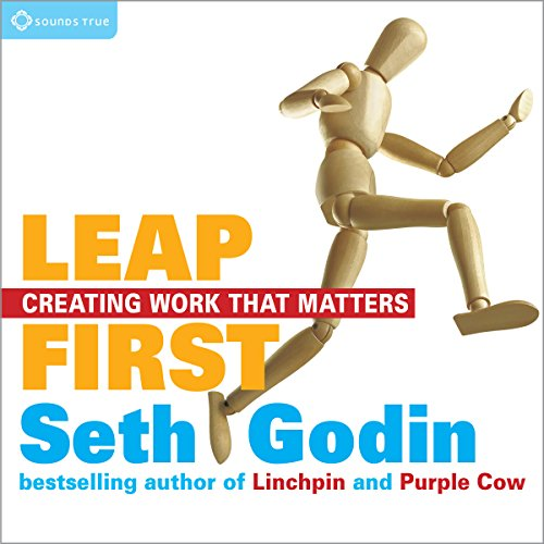 Leap First audiobook cover art
