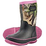 HISEA Kid's Rain Boots Waterproof Muck Mud Boots for Boys Girls Toddlers
