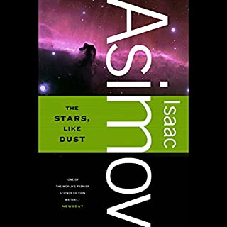The Stars, Like Dust audiobook cover art