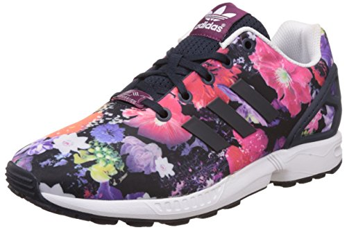 adidas Originals Zx Flux S74959, Unisex-Kinder Sneaker, Blau (Eqt Blue S16/Ftwr White/Core Black), EU 36 2/3