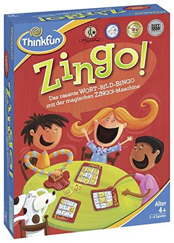 ThinkFun 76351 - Zingo!® - Das rasante Wort-Bild-Bingo ab 4 Jahren