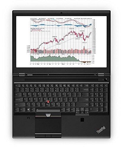 """Lenovo ThinkPad P50 20En 15.6"""" Notebook, 16 GB RAM, 256 GB SSD, NVIDIA Quadro M2000M, Black (20EN001SUS)"""