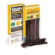 J R Pet Products 3 x 50g Pure Dried 100% Fresh Meat Sticks Dog Treat Gluten & Grain Free - KANGAROO