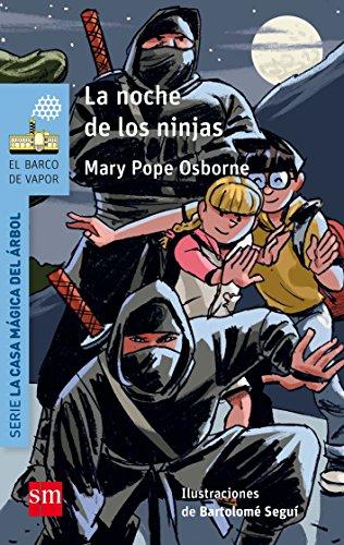 La noche de los ninjas (El Barco de Vapor Azul)