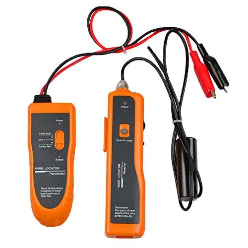 Cruiser nf-816Underground Localisateur de câble tuyaux en métal, câbles électrique, fil Téléphonique, câble coaxial avec écouteurs