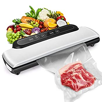 2021 New Upgraded  Vacuum Sealer Machine Automatic Food Sealer Machine Food Vacuum Air Sealing System for Food Preservation Storage Saver Dry & Moist Food Modes