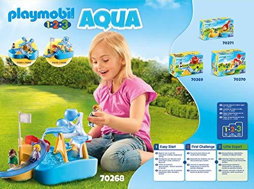 Noria de agua Playmobil 1.2.3 Aqua (70268)