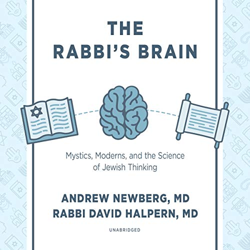 The Rabbi's Brain audiobook cover art