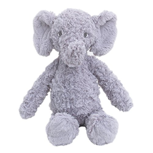 Cuddle Me Luxury Plush, Elephant, Grey
