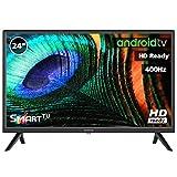 "TV LED INFINITON 24"" INTV-24MA400 HD 400HZ - Smart TV - Android 7.0 - Reproductor y Grabador USB - HDMI - Modo Hotel"