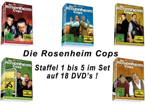 Die Rosenheim Cops - Staffel 1-5 Set (18 DVDs)