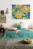 supmsds DIY-Pintura Digital-Flor de Girasol Van Gogh/Pintura Digital por número/Pintura al óleo Digital Lienzo Arte de Pared / 50x75 cm(Sin Marco)