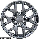 OE Wheels LLC 20 Inch Fits Chevy Silverado Tahoe GMC Sierra Yukon Cadillac Escalade CV92 Chrome 20x9 Rim Hollander 5656