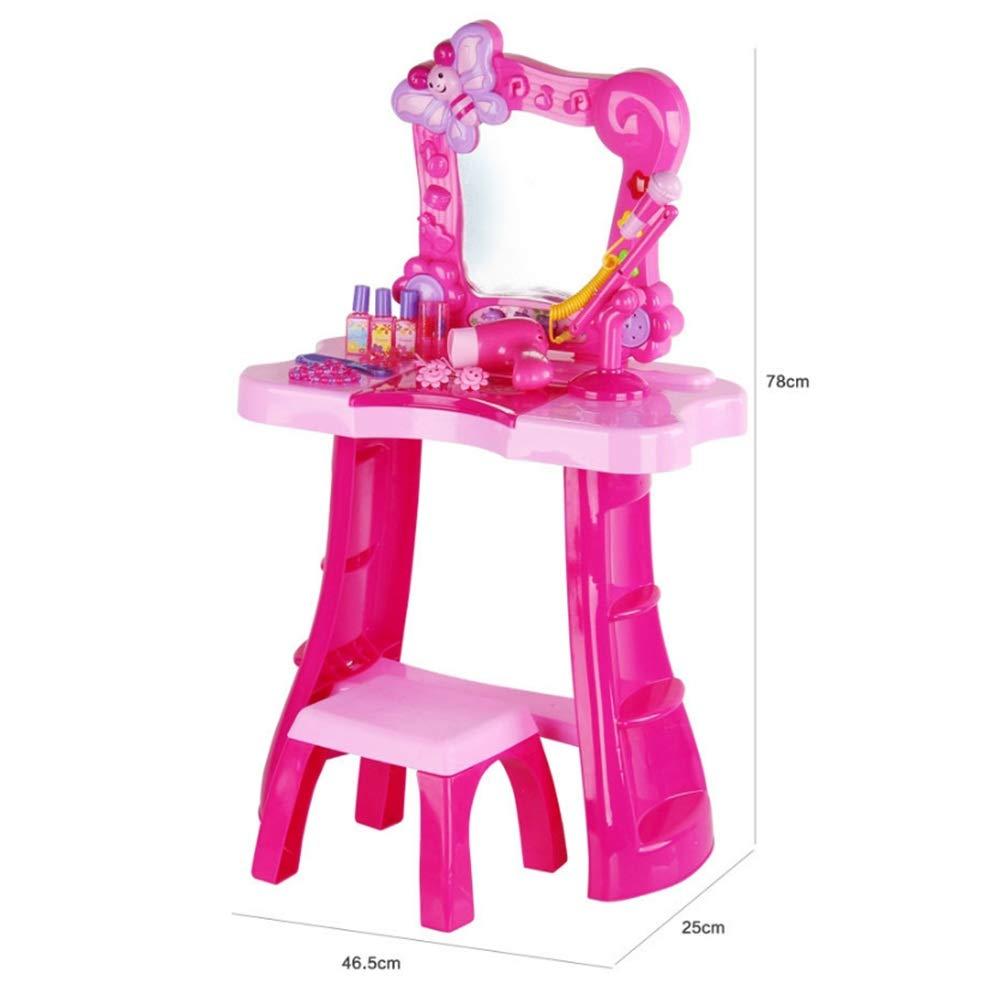 Yamyannie-Home Juego de tocador para niña Princesa de tocador para ...