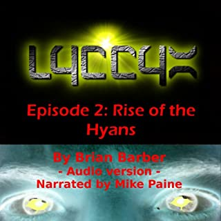 LYCCYX Episode 2 audiobook cover art
