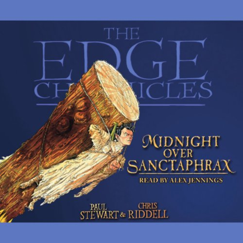 Midnight Over Sanctaphrax audiobook cover art
