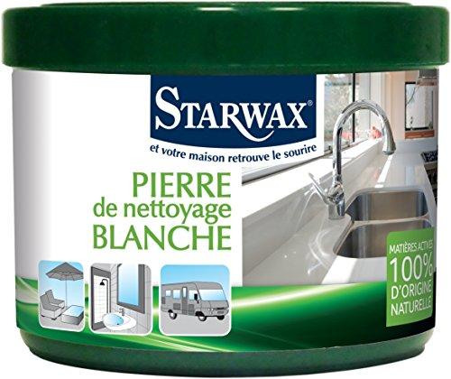 Starwax 30600piedra de limpieza Blanca 100% de origen natural