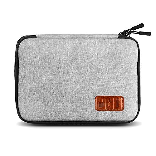 Gibot Cable Organiser Bag, Travel Electronics Accessories Bag Organiser for...