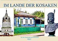 Im Lande der Kosaken - Die alte Hauptstadt Starotscherkassk (Wandkalender 2022 DIN A2 quer): Geschichte und Gegenwart der Kosakensiedlung Starotscherkassk (Monatskalender, 14 Seiten )
