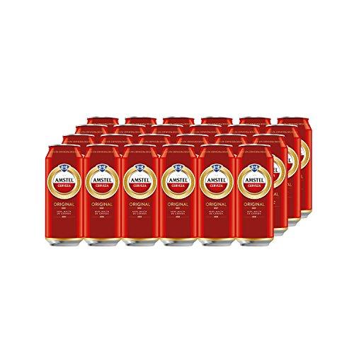 Amstel Original Bier (Pack 24 Dosen x 500ml) bier geschenk, biere der welt, bier set, budweiser bier, geschenk set, geschenke für männer, höhle der löwen produkte